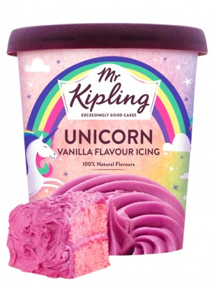 Cobertura de Glaseado Unicorn Cake Mix Vainilla Icing 400 grs. | Pedido GRATIS!