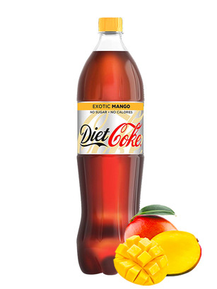 Coca Cola DIET Exotic Mango 1,25 L