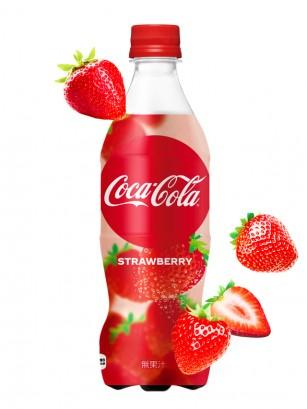 Coca Cola Japonesa Ichigo Fresa 500ml | Pedido GRATIS!