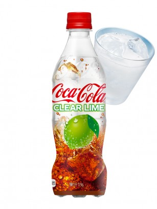 Coca Cola Japonesa Clear Lima 500ml