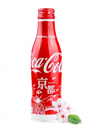 Coca Cola Japonesa Botella Aluminio | Edicion Limitada Kyoto 250 ml