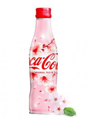 Coca Cola Japonesa Botella Aluminio | Edicion Limitada Sakura 2020 | 250 ml