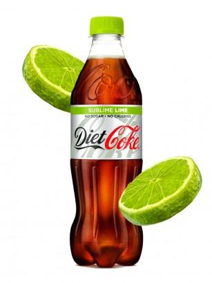 Coca Cola DIET Sabor Lima 500 ml