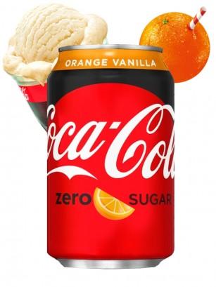 Coca Cola Naranja Vainilla ZERO | USA 355 ml | Pedido GRATIS!