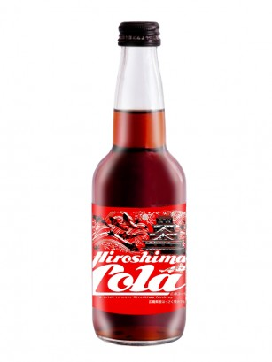 Hiroshima Cola | Botella Vidrio 330 ml.
