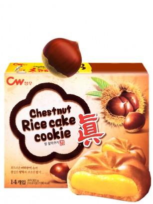 Cookies Mochi de Castañas | Box Pemium 14 Unidades