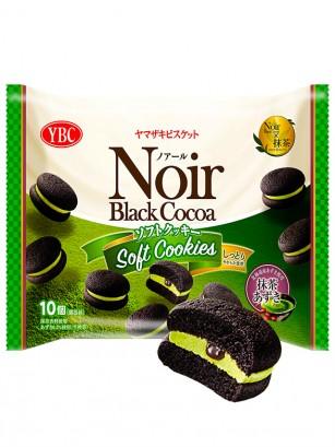 Soft Cookies de Cacao con Matcha y Crema de Azuki | 140 grs.