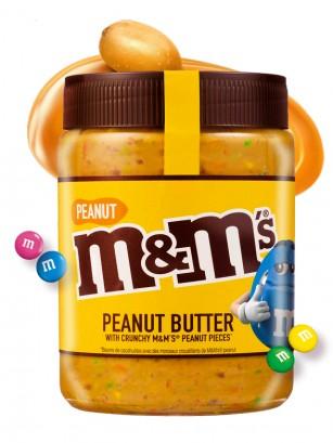 Crema de Cacahuete con Toppings de M&M's Cacahuete | 320 grs