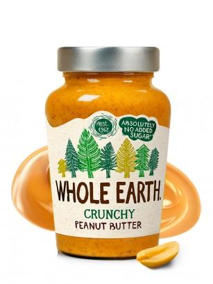 Crema de Cacahuete Crunchy Sin Azúcar Añadido 227 grs.