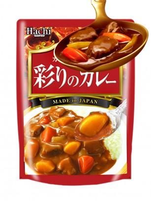 Curry Fresco Japonés Vegetariano | Picante 200 grs