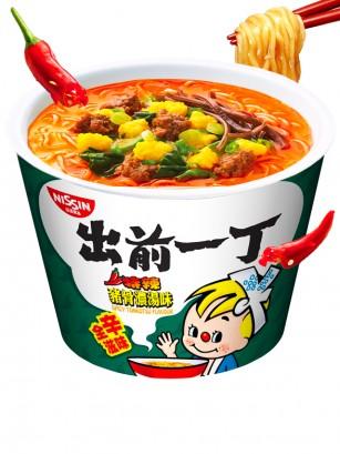 Demae Ramen Extra Big Bowl | Spicy Tonkotsu