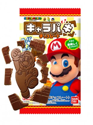 Chocolatina Super Mario con galletas | 25 grs.