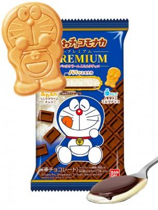 Doraemon de Barquillo y Mousse de Nata, Vainilla y Chocolate | Premium 19 grs