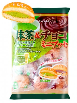 Mini Dorayakis Castella de Matcha y Chocolate 140 grs. |  Receta de Kyoto