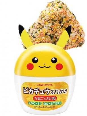 Condimento Furikake Pikachu Onigiri de Huevo y Salmón