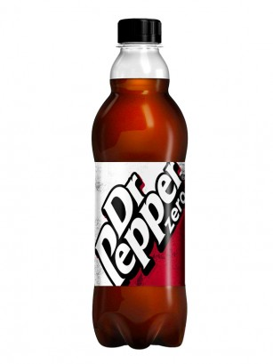 Dr. Pepper ZERO UK 500 ml.