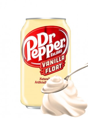 Dr. Pepper USA Helado de Vainilla | Edit. Limitada