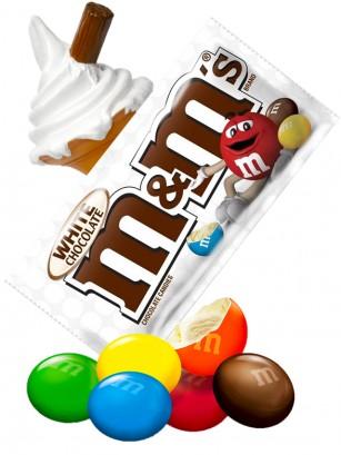 M&M's de Chocolate Blanco 42 grs.