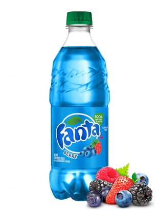 Fanta de Bayas del Bosque | Berry Chubby USA 591 ml. | Pedido GRATIS!