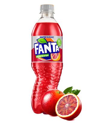 Fanta Naranja Sanguina ZERO 500 ml