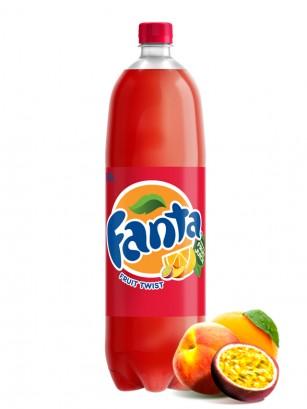 Fanta Twist Fruit ZERO | Melocotón, Maracuya y Naranja 1,5L