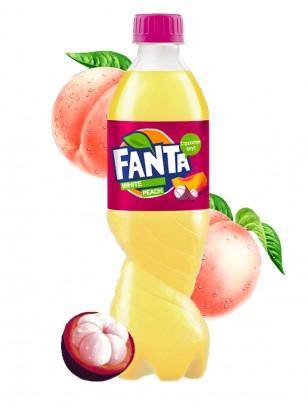 Fanta Melocotón Blanco y Mangostán 500 ml