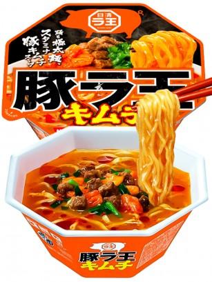 Fideos Nissin de Cerdo Lao Kimchi | Picante 107 grs.