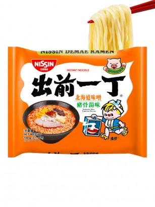 Demae Ramen Nihon Classic, Miso Tonkotsu | Receta de Hokkaido