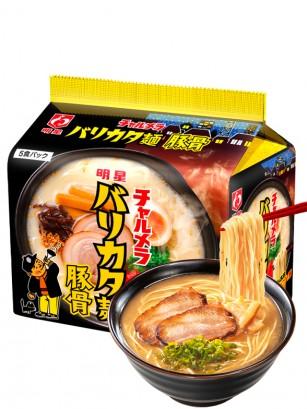 Fideos Ramen de Cerdo Tonkotsu | Receta Meisei Charmera | Unidad  82 grs.
