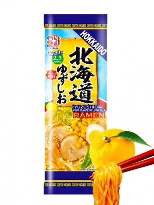 Fideos Ramen Vegetarianos de Setas y Yuzu | Receta de Hokkaido 172 grs
