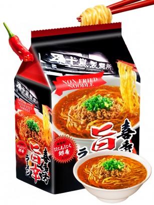 Fideos Ramen Kitakata Umakara Spicy | 303 grs 3 uds