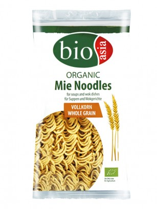 Fideos Mie Noodles Integrales Orgánicos 250 grs.
