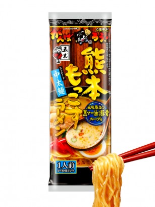 Fideos Ramen Vegetarianos Kumamoto Mokkosu 104 grs