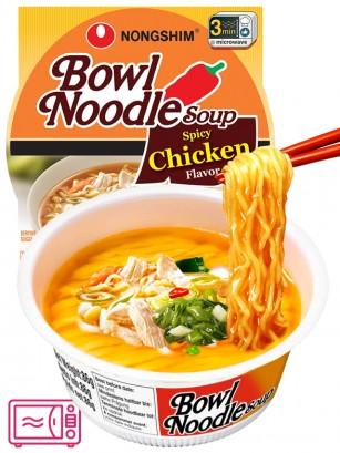 Fideos Ramen Coreanos Pollo Naruto Hot & Spicy | Bowl Migug-in | USA