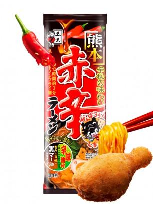 Fideos Ramen Picantes de Pollo y Cerdo | Receta de Kumamoto | 2 Raciones