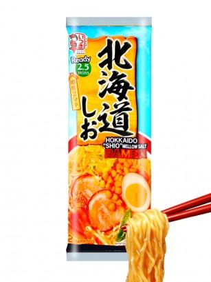 Fideos Ramen Shio | Receta Hokkaido | 2 Raciones | 172 grs