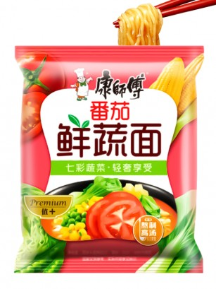Fideos Ramen de Tomate y Verduras 101 grs