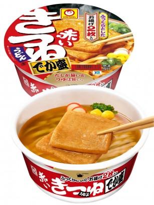 Fideos Udon con Aburaáge frito, Huevo y Naruto | Titán Bowl 136 grs.