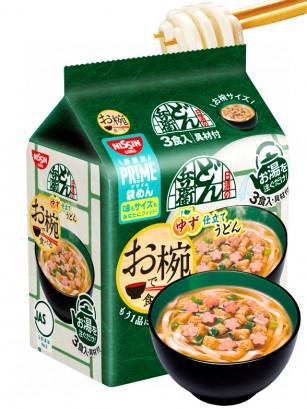Fideos Udon Donbei Yuzu Sakura | Pack de 3 | 90 grs