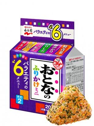 Condimento Furikake Bento Receta Adulta | 6 Sabores 34 grs