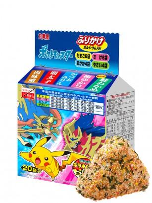 Condimento Furikake Bento Receta Pokemon | 4 Sabores 50 grs