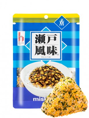 Condimento Furikake de Mishima Hiroshima con Bonito y Huevo 40 grs