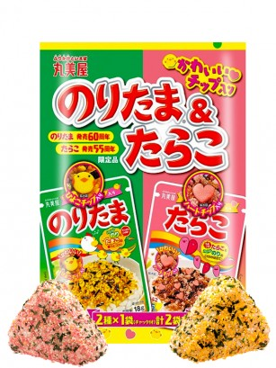 Condimento Bento Furikake Doble | Noritama y Tarako Special Anniversary 36 grs