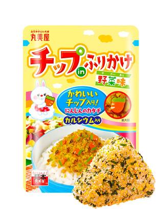 Condimento Bento Furikake Huevo, Verduras y Naruto de Noritama 24 grs