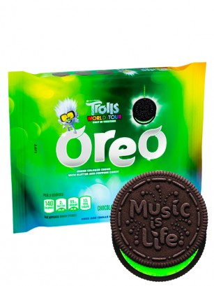 Oreo Guy Diamond Troll Black Green Purpurina | 303 grs.