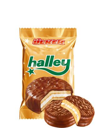 Galleta estilo Chocopie Bañada en Cacao rellenas de Crema | Ulker 1 Unidad
