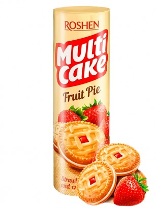 Galletas de Fresas y Nata | Shortcake | Receta Cake Fruits 195 grs