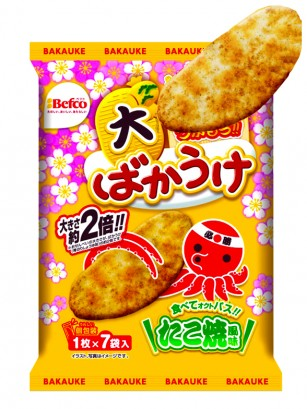 Galletas de Arroz Senbei Sabor Takoyaki 70 grs.
