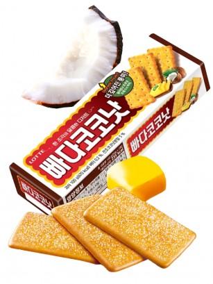 Galletas Coreanas de Mantequilla y Coco 100 grs