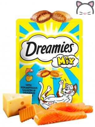 Snacks para Gatos de Salmón y Queso 60 grs.